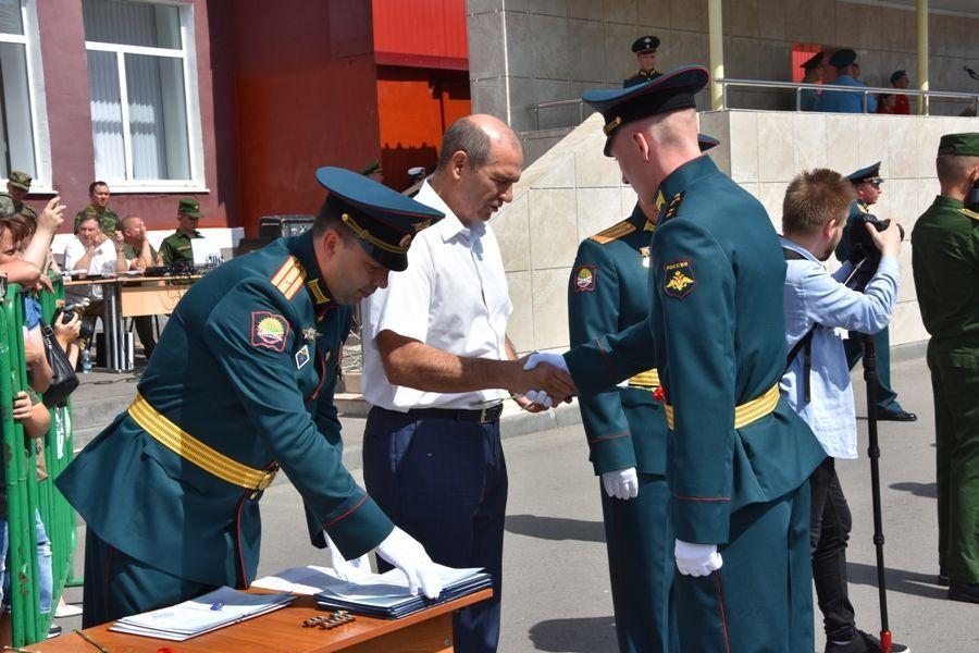 Поздравление курсантов с выпуском